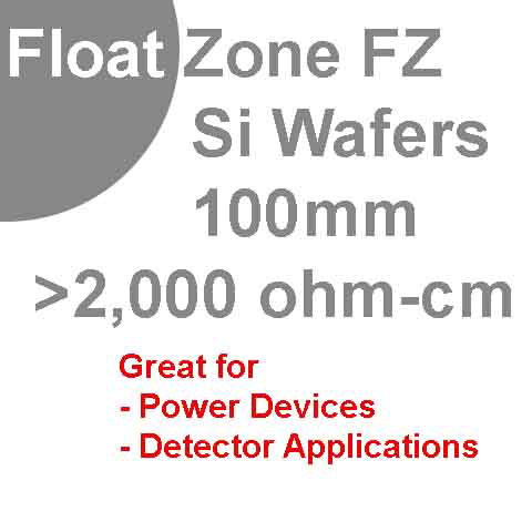 float zone silicon wafer sale